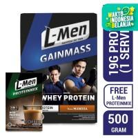 L-Men Gain Mass Mangga 500gr FREE L-Men Proteinmix