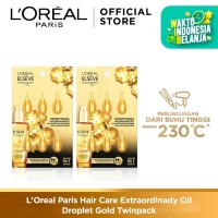 L'Oreal Paris Hair Care Extraordinary Oil Droplet Gold Twinpack