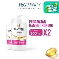 Pantene Shampoo Hairfall Control 900ml - Paket isi 2