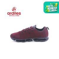 Ardiles Men Max Run Sepatu Running - Maroon