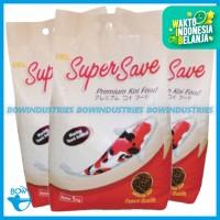 Makanan Pakan Ikan Super Save SuperSave Premium Koi Food Netto 5 Kg