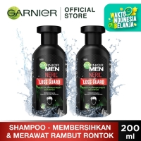 Garnier Men Neril Loss Guard Hair Fall Treat Shampoo 200ml Twin Pack