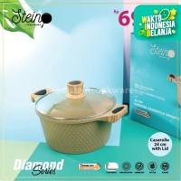 Stein Cookware Diamond Caserolle 24cm