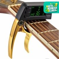 Capo Tuner Gitar Bass ukulele Meideal Tcapo20 20C