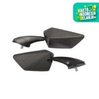 Spion Fairing Nemo Tipe 1312 Carbon For Motor Honda Yamaha Kawasaki