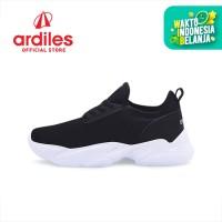 Ardiles Women Pepino Sepatu Running - Hitam - Hitam, 37