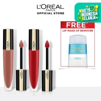 Loreal Paris Rouge Signature 116 + 666 Free Make Up Remover