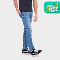Cressida Nextlevel Basic Skinny Jeans Pria C118 - Biru - Biru, 27