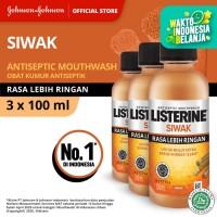 (Dapat 3) LISTERINE® Siwak Mouthwash / Obat Kumur 100ml