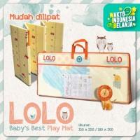 [Carpet Shop ID] Karpet LOLO Basic 120X180 Playmat Anak (RANDOM)