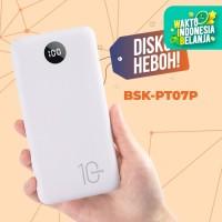 BASIKE Power Bank 20000 mAh 10000 mAh Powerbank Dual USB Murah Mini - PT07P 10000mAh