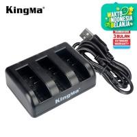 TRIPLE CHARGER NON LCD KINGMA XIAOMI YI 4K PLUS & LITE