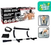 Alat Pull up bar Iron gym Door Chin up Fitnes Tiang Push Up Pintu 13-5