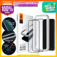 Tempered Glass iPhone 12 Pro Max 12 Mini Spigen AlignMaster Full Cover