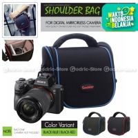 Tas NILON TRAVEL Sling Bag Case Kamera Mirrorless XA3 XA5 XA20 A6000