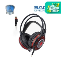 Headset Gaming Sades AW79 7.1 Surround With Vibration