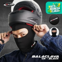Cargloss BALACLAVA - all Black Full Face | Masker Balaclava