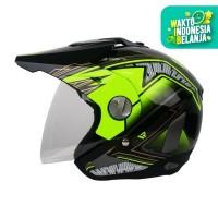 Helm Cargloss Former Motosport Green- Deep black