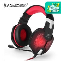 Headset Gaming Kotion Each G1000 3.5MM LED Backlight - Merah