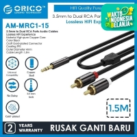 ORICO Jack Mini Stereo 3.5mm to RCA Audio Cables 1.5 Meter AM-MRC1-15