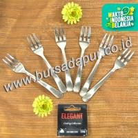 Bursa Dapur ELEGANT/ LCHW Garpu Kue 6 pc / Pack
