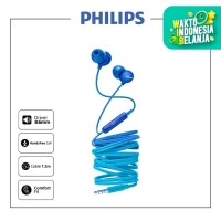 PHILIPS Earphone With Mic SHE 2405 Blue