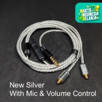 Smooth Sound New Upgrade Silver Plated MMCX Cable Replacement