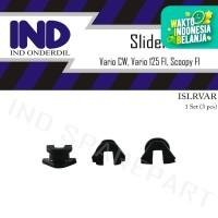 Klip Slider-Slide Tutup Rumah Roller Set Vario CW-125 FI/Scoopy FI