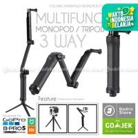 GoPro 3 Way Grip Arm Tripod for GoPro, Brica B-PRO & Xiaomi Yi Camera