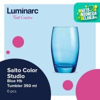 Luminarc Drinkware Salto Color Studio - Blue H/b Tumbler 350ml - 6pcs