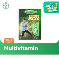 Berocca E-Sport Pack (Berocca Multivitamin B kompleks 10 Tab x 2 Unit)