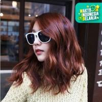 Kacamata Fashion Wanita Sunglass Model New Wayfarer Sunglasses White