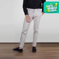 Celana Panjang Chino Smith Berlin Begin Charlie Slim Fit Stretch Cream - 31