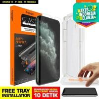 Tempered Glass iPhone 11 / Pro / Max / XS Max / XS XR X Spigen EZ Fit