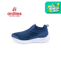 Ardiles Women Lunaria Sepatu Running - Navy - Navy, 37