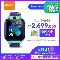 imoo Watch Phone Z5 - HD Video Call - HIJAU MUDA