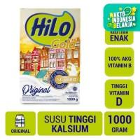 HiLo Gold Plain 1000gr - Susu Tinggi Kalsium