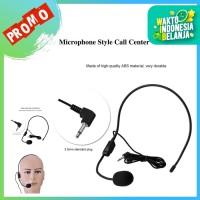 Mic Head Band Kabel Microphone Wired Tutor Headset
