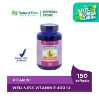 Wellness Natural Vitamin E-400 I.U (150)