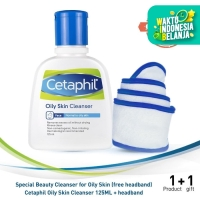 Cetaphil Special Beauty Cleanser for Oily Skin [Free Headband]