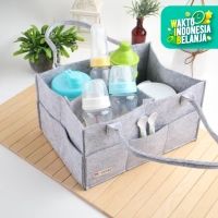 UCHII Felt Travel Diapers Bag Organizer | Tas Popok Bayi Kid Serbaguna