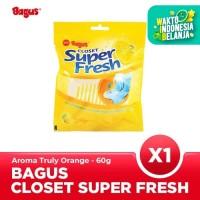 Bagus Closet Super Fresh Truly Orange 60 gr