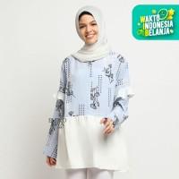 Baju Atasan Wanita Blouse HelyBlue - Emikoawa Premium Lebaran