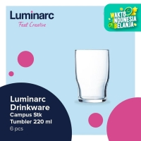 Luminarc Drinkware Campus - Stk Tumbler 220 ml - 6 pcs