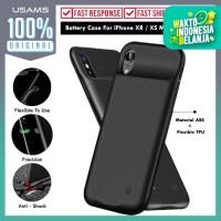 Battery Case iPhone XS Max/XS/XR Usams Slim Case Powerbank Power Case