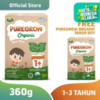 Buy 1 Get 1 PUREGROW Organic -Susu Formula Organik 1-3 Tahun 360gr Boy