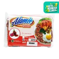 Alamie - Mie Buah Naga Kuah Soto 50gr - Mie Sehat