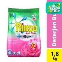 Rinso Molto Detergen Deterjen Bubuk Anti Noda Rose Fresh 1800Ml