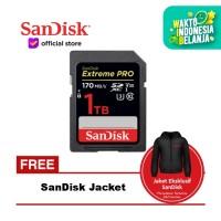 SanDisk Extreme Pro SDXC UHS-I Card 1TB 170MB/s