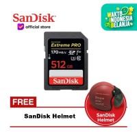 SanDisk Extreme Pro SDXC UHS-I Card 512GB 170MB/s